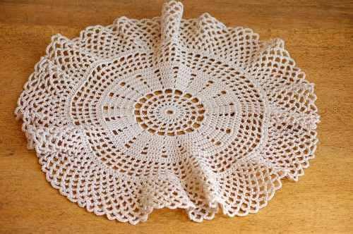 スウェーデンで見つけた手編みマット(3)の商品写真