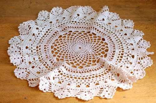 スウェーデンで見つけた手編みマット(4)の商品写真