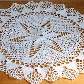 スウェーデンで見つけた手編みマット(5)の商品写真