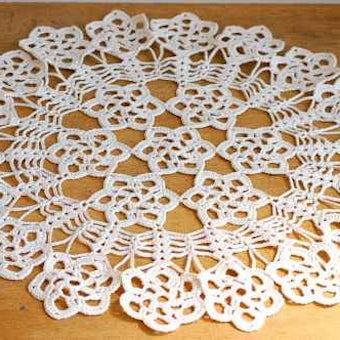 スウェーデンで見つけた手編みマット(6)の商品写真