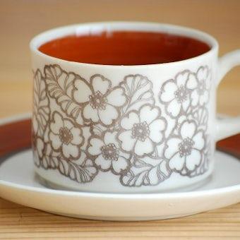 GEFLE/ゲフル/AGNETA/コーヒーカップ&ソーサー(僅かに難あり)の商品写真