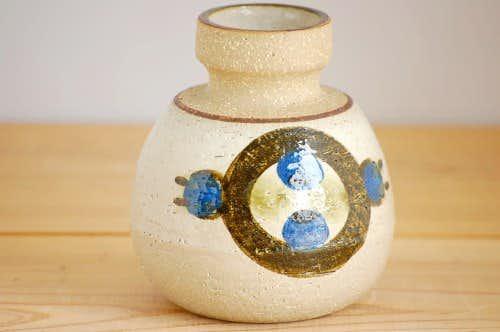 デンマーク/Soholm/スーホルム/陶器の花瓶の商品写真