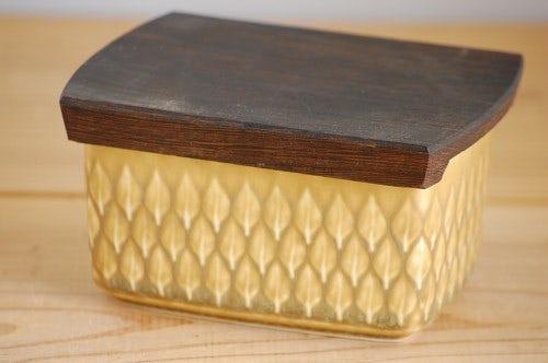 デンマーク/Relief/レリーフ/木蓋付きバターケースの商品写真