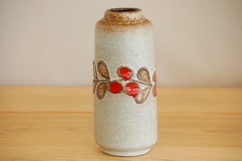 デンマークで見つけた陶器の花瓶の商品写真