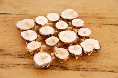 スウェーデン/SKANDINAVISK HEMSLOJD/木製ポットマットの商品写真