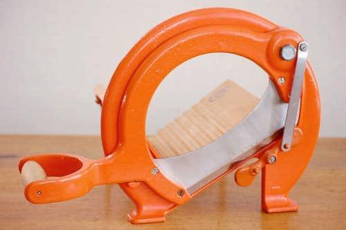 デンマーク/RAADVAD社/ブレッドカッター(オレンジ)の商品写真