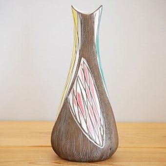 これはレア!!/Upsala Ekeby/ウプサラエクビイ/Mari Simmulson/大きな花瓶の商品写真