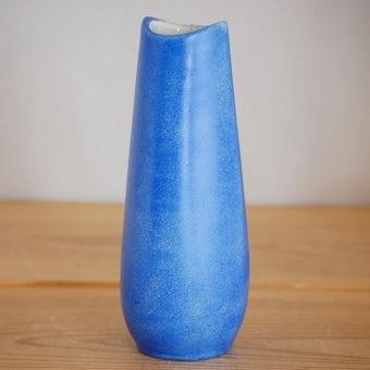 ARABIA/アラビア/陶器の花瓶(鮮やかなブルー)の商品写真