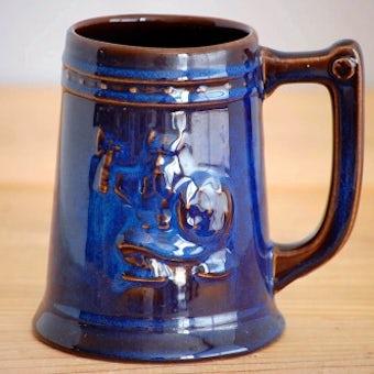 GEFLE/ゲフル/KOSMOS/コスモス/バイキング模様の陶器のビールジョッキの商品写真
