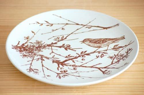 デンマーク/NYMOLLE社/mads stage/小鳥の飾り皿(ヤナギ)の商品写真