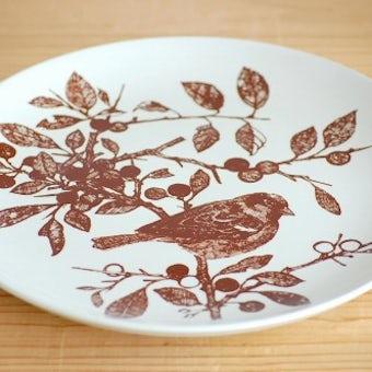 デンマーク/NYMOLLE社/mads stage/小鳥の飾り皿(イエスズメ)の商品写真