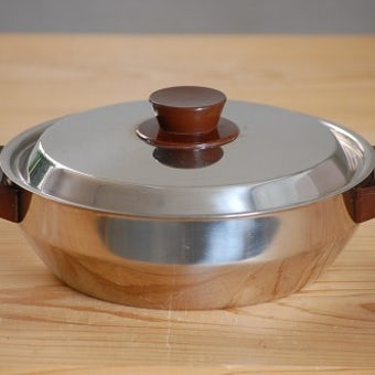 NILS JOHAN/ニルス・ヨハン/ステンレス製両手平鍋の商品写真