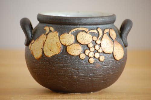 RORSTRAND/ロールストランド/Jacqueline Lyndデザイン/陶器のジャムポットの商品写真