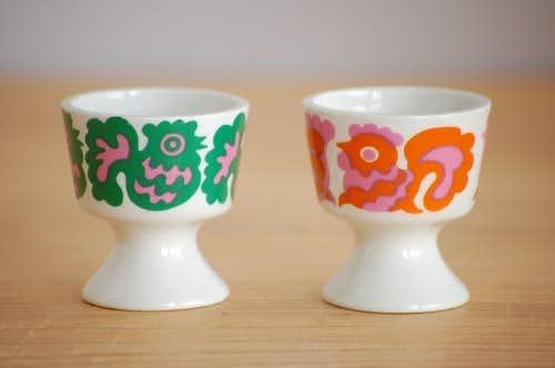 ARABIA/アラビア/エッグカップ2個セット(ニワトリ)の商品写真