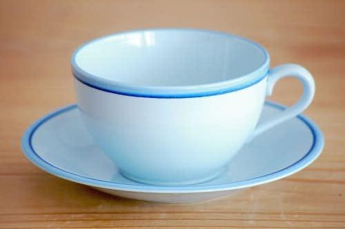 RORSTRAND/ロールストランド/水色のコーヒーカップ&ソーサーの商品写真
