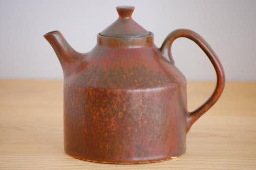 RORSTRAND/ロールストランド/陶器のティーポット(ブラウン)の商品写真