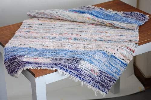 スウェーデンで見つけた織マット(パステルピンク)の商品写真