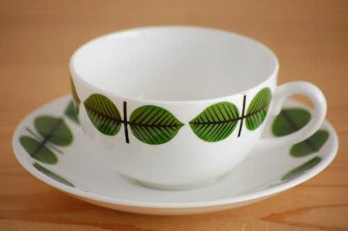 GUSTAVSBERG/グスタフスベリ/BERSA/ベルサ/コーヒーカップ&ソーサー(僅かに難あり)の商品写真