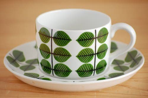 GUSTAVSBERG/グスタフスベリ/BERSA/ベルサ/ティーカップ&ソーサー(僅かに難あり)の商品写真