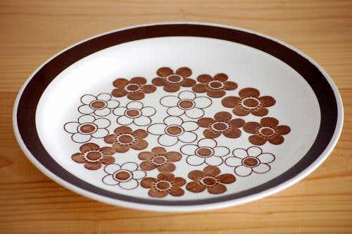RORSTRAND/ロールストランド/ANEMON/アネモン/ディナープレート(24cm、ブラウン)(少々難あり)の商品写真