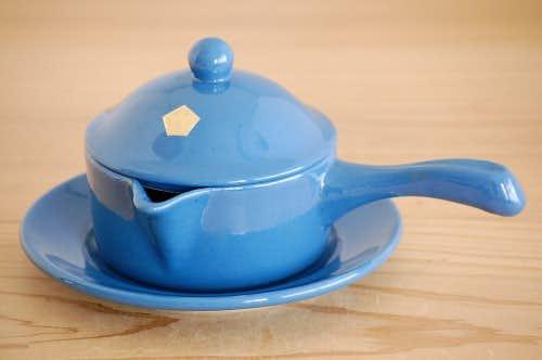 SYCO Keramik社/陶器のソースポット(蓋&受け皿付き)の商品写真