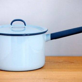 KOCKUMS/コクムス/ホーロー片手鍋(ブルーグレー)の商品写真