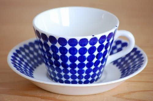 GUSTAVSBERG/グスタフスベリ/ADAM/アダム/コーヒーカップ&ソーサー(僅かに難アリ)の商品写真