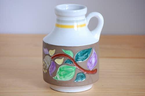 Upsala Ekeby/ウプサラエクビイ/Mari Simmulson/マリ・シミュルソン/陶器の花瓶の商品写真
