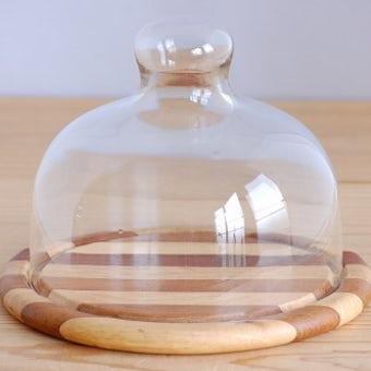デンマークで見つけたユニークなデザインのガラス製タルトドームの商品写真