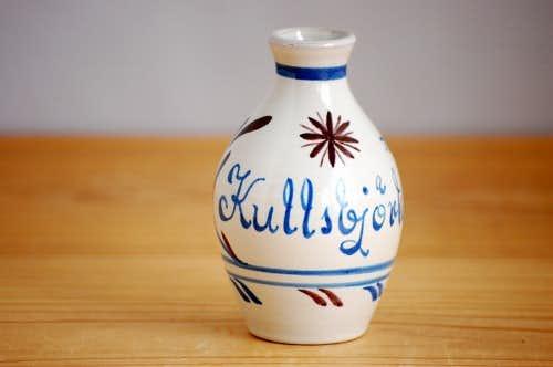 スウェーデン/Nittsjo釜/陶器の小さな花瓶の商品写真