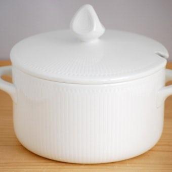 Rorstrand/ロールストランド/陶器のスープポット(ホワイト)の商品写真