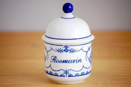 デンマークで見つけた陶器のスパイスポットの商品写真