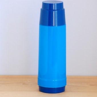 スウェーデンで見つけたヴィンテージ魔法瓶(ブルー)の商品写真