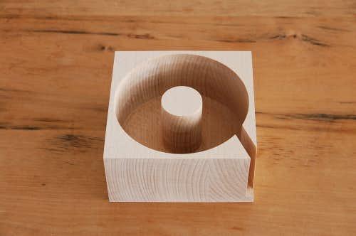 ScanWood/スキャンウッド/ブナの木/ペーパータオルホルダーの商品写真