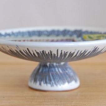 スウェーデンで見つけた美しいフルーツ皿(コンポート)の商品写真