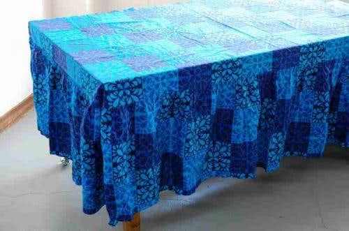 スウェーデンで見つけたベッドカバー&ピローケースのセット(ブルー)の商品写真
