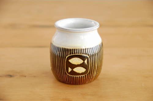 Upsala Ekeby/ウプサラエクビイ/Mari Simmulson/陶器のポット(小)の商品写真