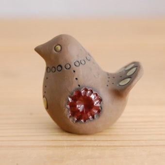 スウェーデンで見つけた陶器の小鳥オブジェの商品写真