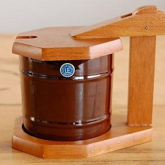 Upsala Ekeby/ウプサラ・エクビイ/木製台付きマスタードポットの商品写真