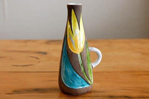 Upsala Ekeby/ウプサラ・エクビイ/Mari Simmulsonデザイン/花瓶(一輪挿し) 大の商品写真