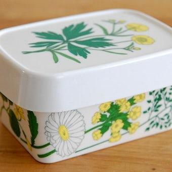 スウェーデンで見つけたプラスティック製のバターケースの商品写真