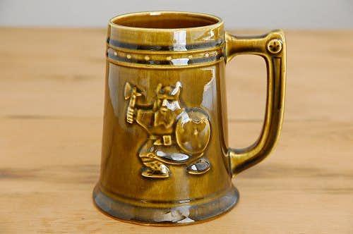 GEFLE/ゲフル/SKIMRA/スキムラ/バイキング模様の陶器のビールジョッキの商品写真