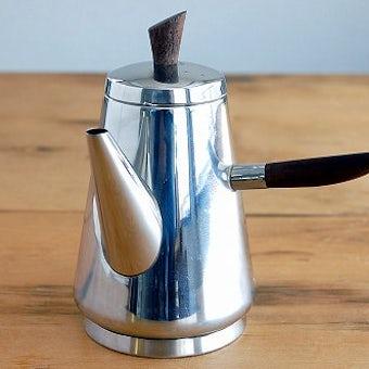 スウェーデンで見つけたステンレス製コーヒーポットの商品写真