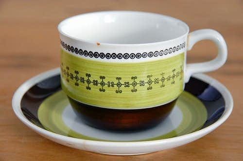 RORSTRAND/ロールストランド/MILANO/ミラノ/コーヒーカップ&ソーサー(少々難あり)の商品写真