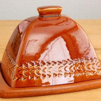 スウェーデン/JIE釜/陶器のチーズドームの商品写真