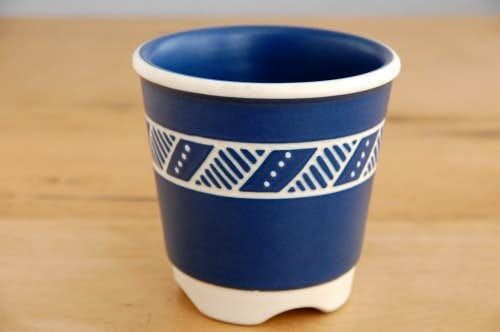デンマーク/SOHOLM/スーホルム/陶器の植木鉢カバーの商品写真