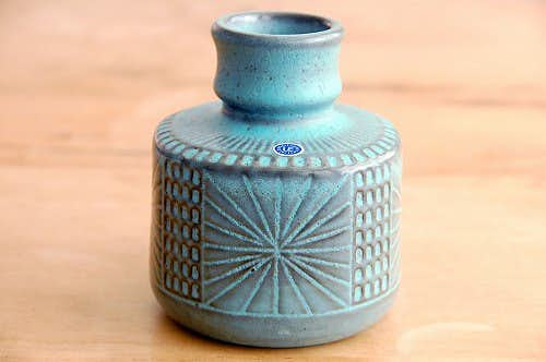 Upsala Ekeby/ウプサラエクビイ/Mari Simmulsonデザイン/陶器の花瓶(1)の商品写真