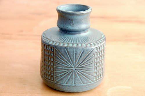 Upsala Ekeby/ウプサラエクビイ/Mari Simmulsonデザイン/陶器の花瓶(2)の商品写真