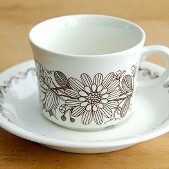 ARABIA/アラビア/Finnish Flint/ELINA/コーヒーカップ&ソーサーの商品写真