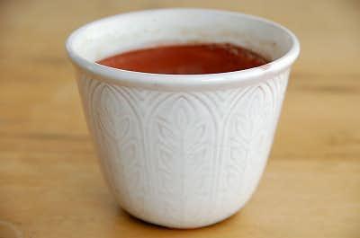 RORSTRAND/ロールストランド/陶器の植木鉢(ホワイト)の商品写真